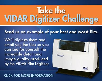 VIDAR Dental Digitizer